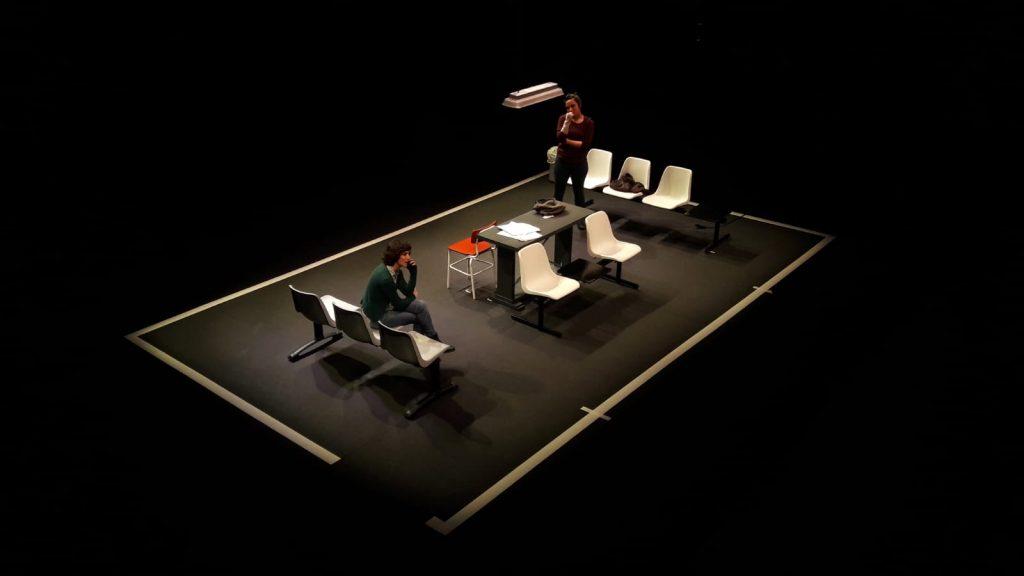 Fotografía de LA ISLA de Histrión Teatro en Laguna de Duero (Valladolid). Casa de las ARTES  27 noviembre de 2020